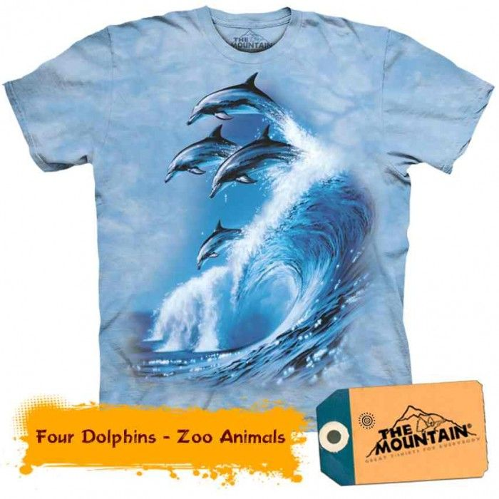 Tricouri The Mountain – Tricou Four Dolphins