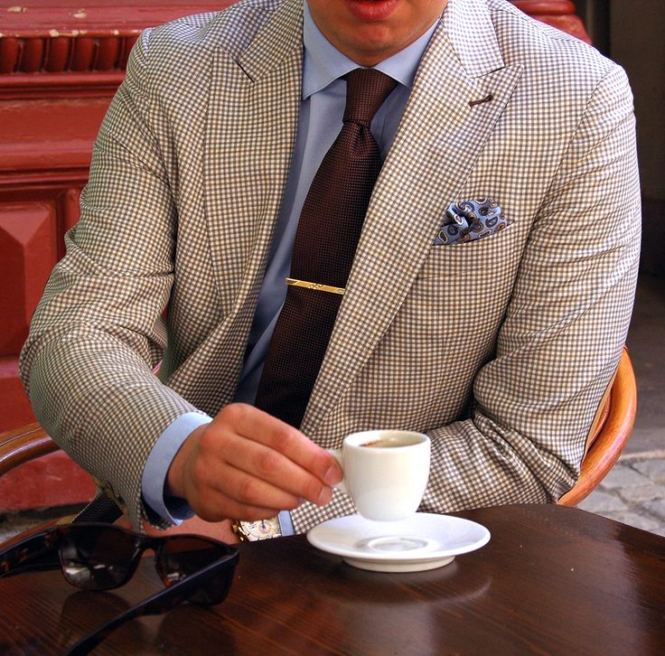 My friend Sir Christian T. drinking coffee with style!