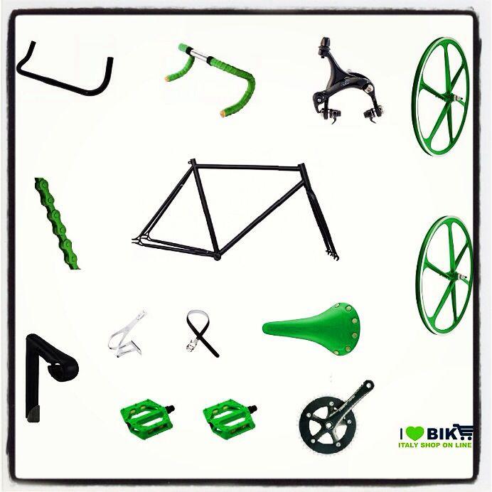 Fixed Bike accessories on ilovebike.it