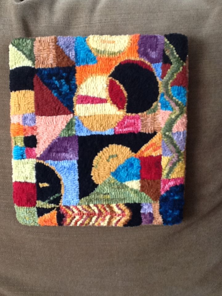 414 Best Images About Rug Hooking Abstract Geometric Etc