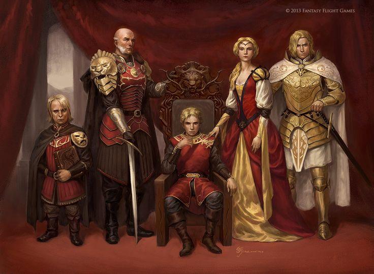 "ilanawexler: "" Lannister Family by Giacobino """