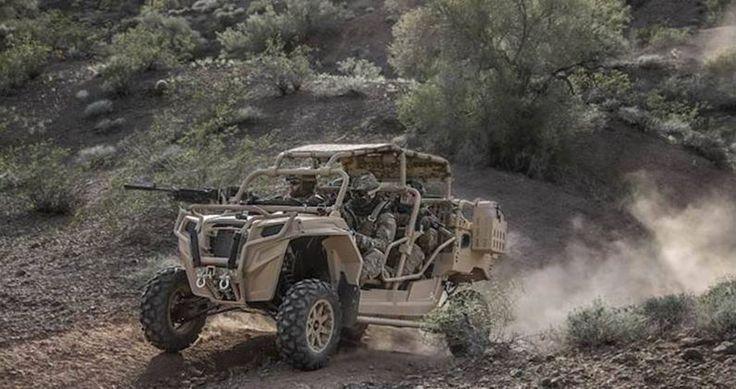 """L'esercito americano valuta la rapidità sul terreno di nuovi mezzi """"civili"""" aviolanciabili -foto un  MRZR. Difesa Online"""