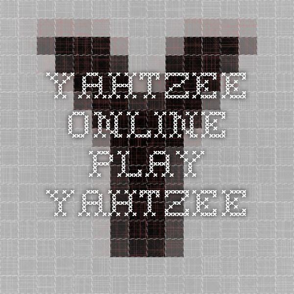 Yahtzee Online - Play Yahtzee