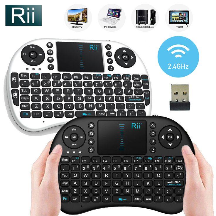 Rii i8 Mini 2.4Ghz Wireless Keyboard Touchpad For Kodi Raspberry PI 2 3 Xbox 360