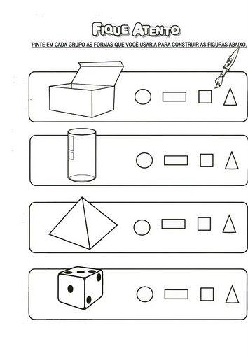 ATIVIDADES ESCOLARES ONLINE: Diversas Atividades de Matemática - Formas Geométricas, Os Números de 1 a 10, Jogo da velha, Vamos contar, Representando quantidades de 1 até 10, Charadas Numéricas, Ordem Crescente e decrescente, Tabelas e gráficos