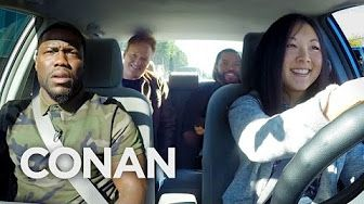 Ice Cube, Kevin Hart And Conan Help A Student Driver - CONAN on TBS - YouTube