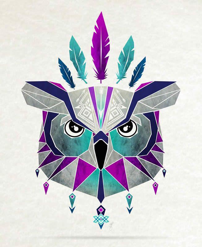 ilustracion animales geometrico - Buscar con Google