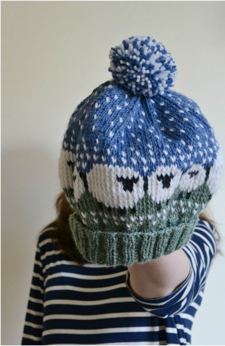 Shetland Wool Week 2015 knitted sheep hat on Elise and Life