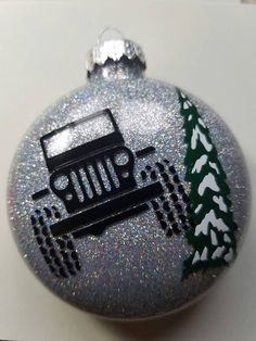 Jeep Christmas ornament by TopnotchEtching on Etsy