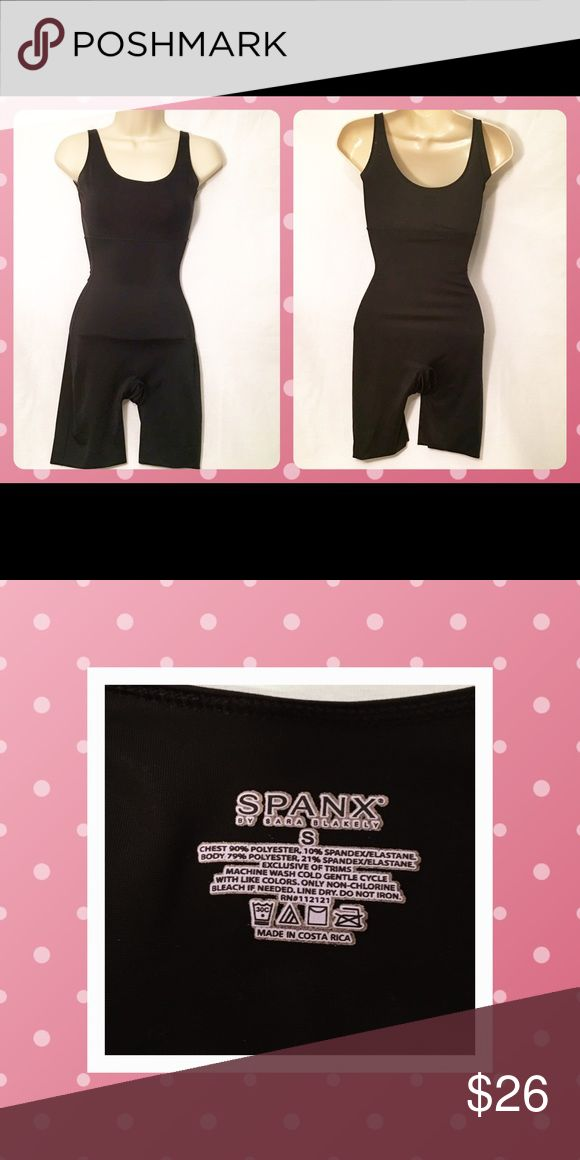 Black full body Spanx Shape wear, size Small Black full body Spanx Shape wear, size Small SPANX Intimates & Sleepwear Shapewear