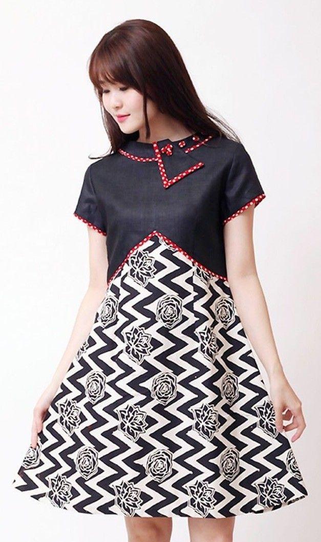 Batik kombinasi polos  4dec5dcc5f