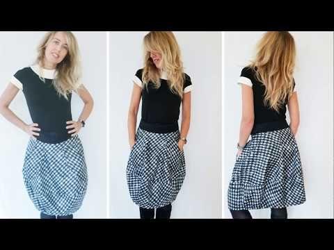 616fa1e8b4 Gonna a palloncino DIY | Balloon skirt in 20' EN SUB - YouTube ...
