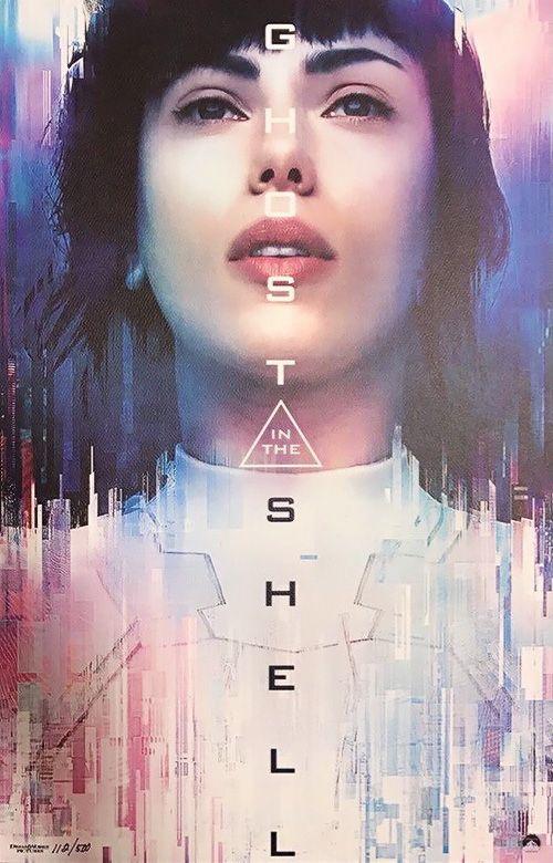 Cyberpunk Online — scarlettjohanssonweekly:    New Poster Ghost In...