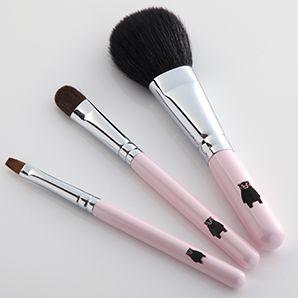 くまモンイラスト入り 熊野化粧筆