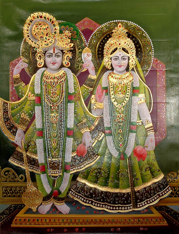Lakshmi and Narayana