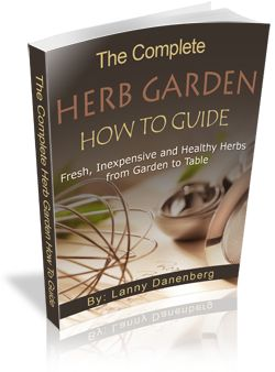 'Herb Garden How-to Guide' is now available for order. It's packed with tips for starting your own savory herb garden and includes chapters on selecting plants for your garden, planting herbs in pots, herb garden design, fun herb garden kits and much more...everything you need to get started growing your own herbs today.