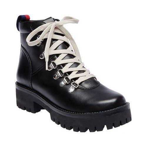 fe6370706d2 Steve Madden Women's Bam Hiker Boot, Black Leather   want. in 2019 ...