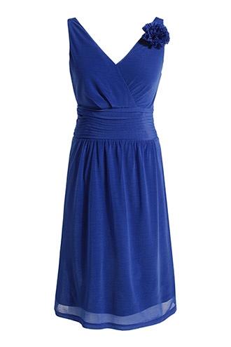 Esprit 50 euro    jurk van meegevende meshstof