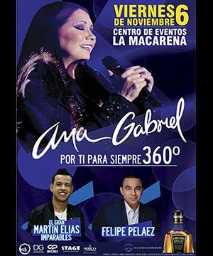 Ana Gabriel – Medellin   ticketshop.com.co