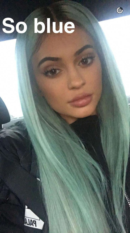 Kylie Jenner Bei Ihrer Nachsten Verruckten Haarfarbe