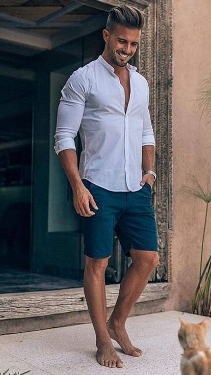 30 Trendy Summer Men Fashion Ideas For You To Try! - Nas Kobby Studios - Mens fashion summer - #fashion #Ideas #Kobby #Men #Mens #Mensfashionsummer #Nas #Studios #summer #trendy
