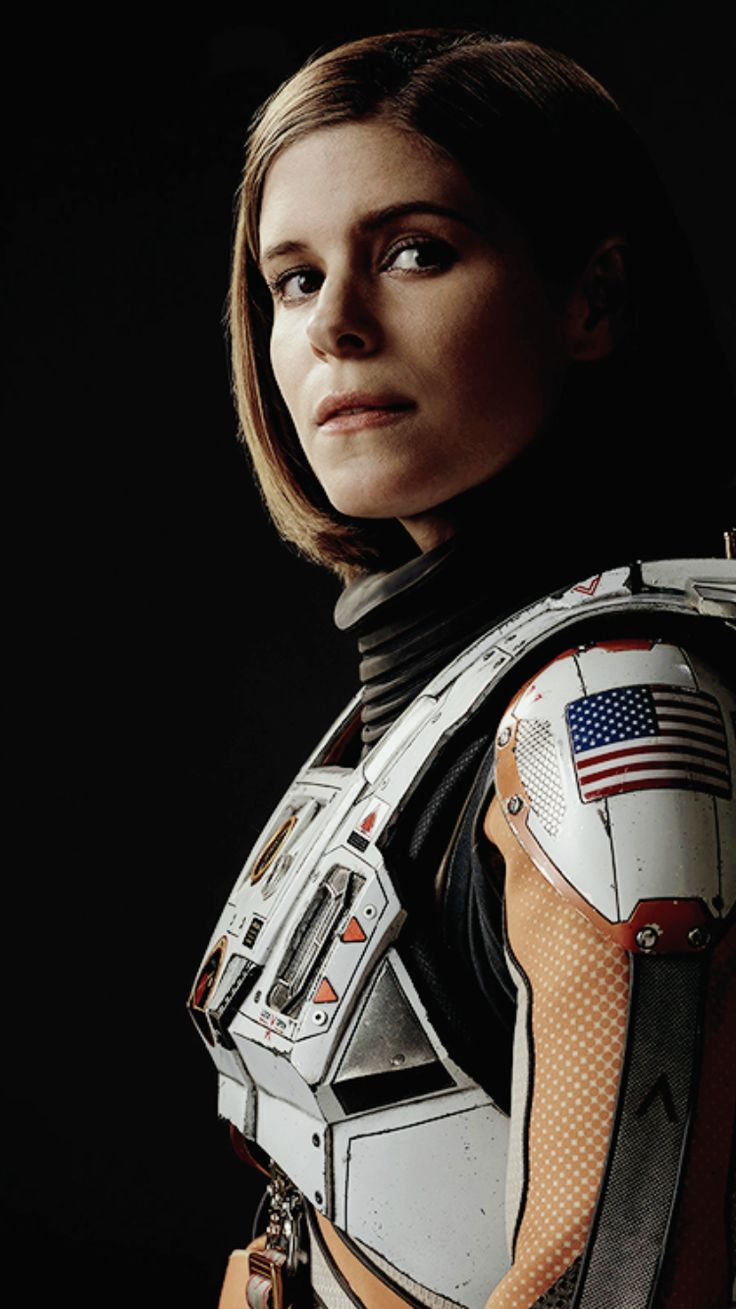 Kate in the Martian