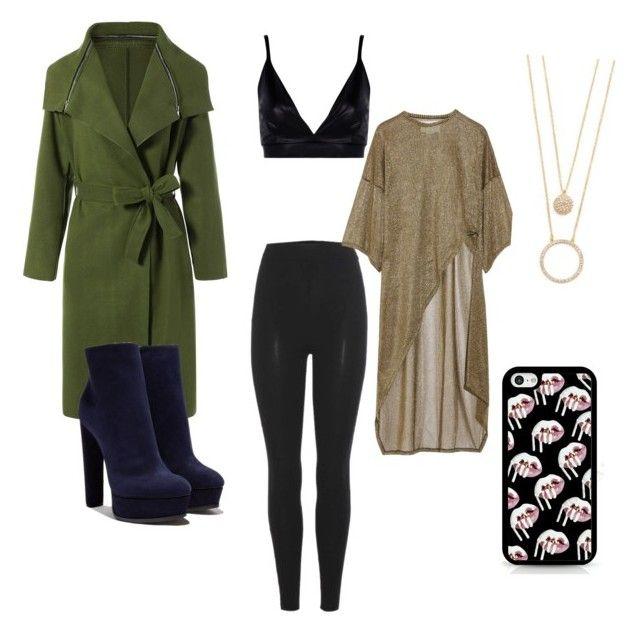 """fashion look"" by margocase on Polyvore featuring Casadei, adidas Originals, Boohoo, Esteban Cortazar and Kate Spade"