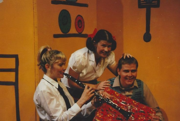 Happy Families, by John Godber, performed by the Little Theatre Company, Burton-on-Trent, in June 1998.