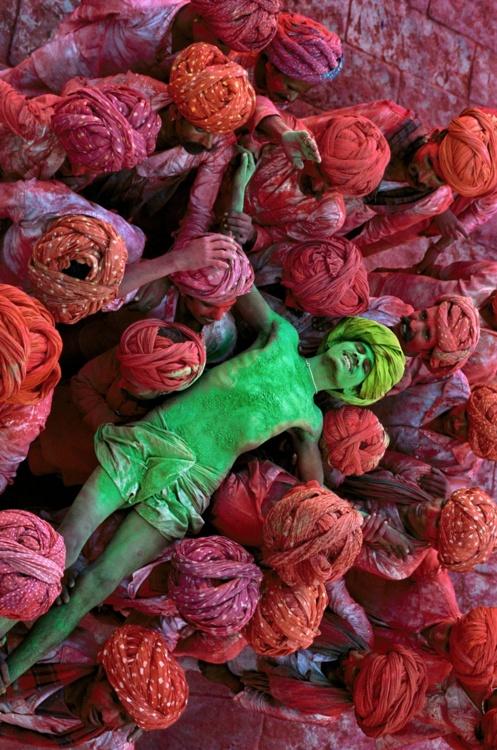 The wonderful Hindu Holi Celebration, India