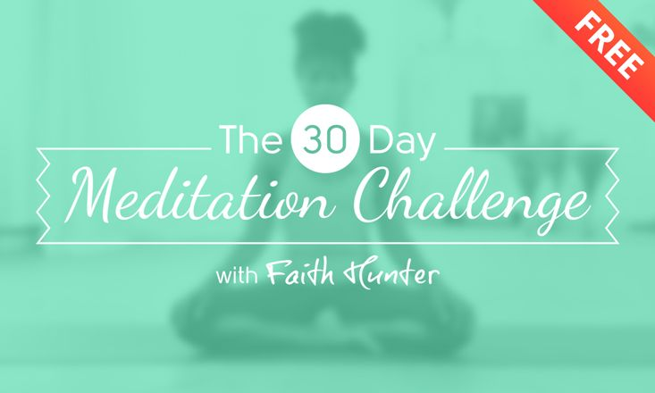 Free, 30-Day Meditation Challenge from Do You Yoga.  Begins on February 1, 2015.  Sign up!