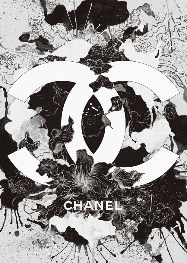 die besten 25 chanel logo ideen auf pinterest chanel poster chanel und chanel aufkleber. Black Bedroom Furniture Sets. Home Design Ideas