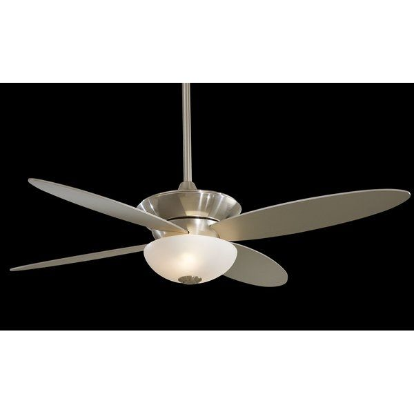 Minka Aire 52 Zen 4 Blade Ceiling Fan With Remote Reviews Wayfair Ceiling Fan Ceiling Fan With Remote Modern Ceiling Fan Minka aire ceiling fans reviews