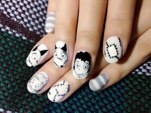 #Halloween2014, idee per una spaventosa #nailart (FOTO)  #nails #halloween