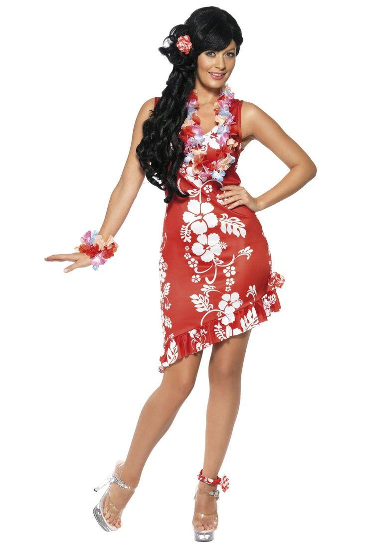 Hawaiian Beauty Adult Costume