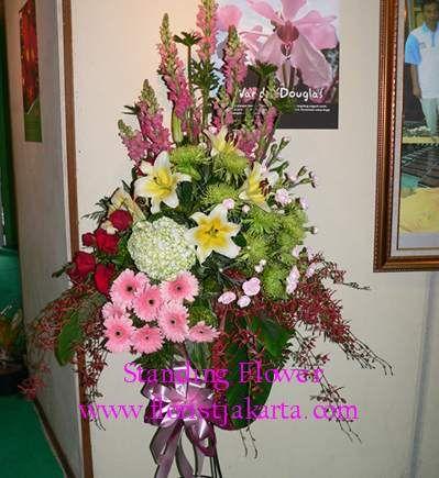 Desain Dasar Dari Sebuah Karangan bunga - Florist Jakarta
