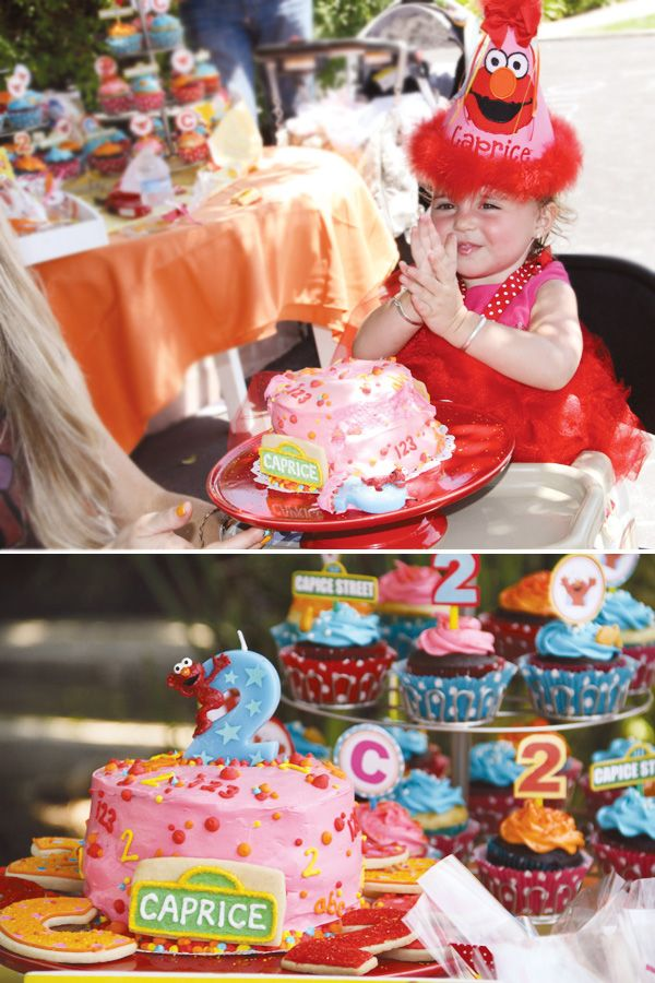 Love the idea of a small cake for Emma and cupcakes for everyone else