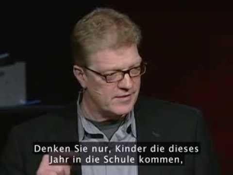 Ken Robinson sagt: Schule erstickt die Kreativität - YouTube