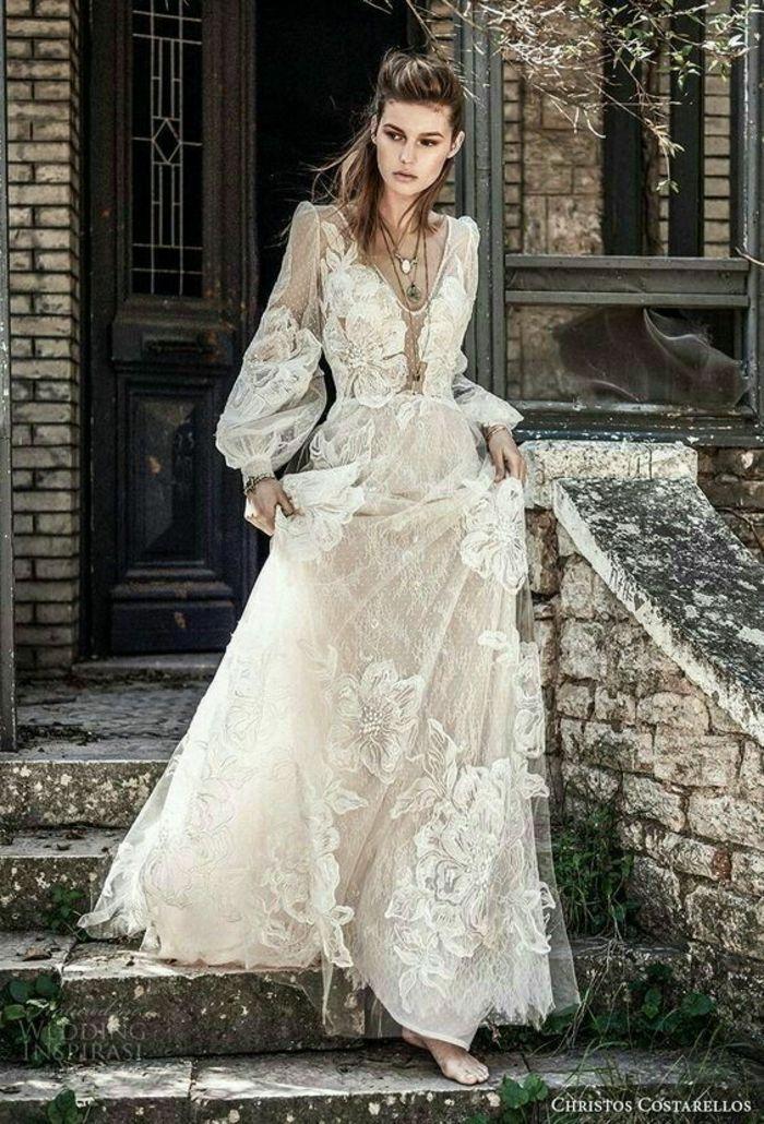 ▷ 1001 + Idées pour une robe hippie chic en dentelle + robe