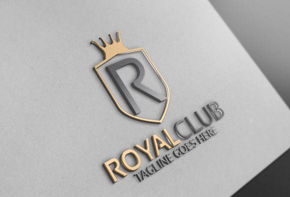 Royal Logo by Josuf Media on @creativemarket