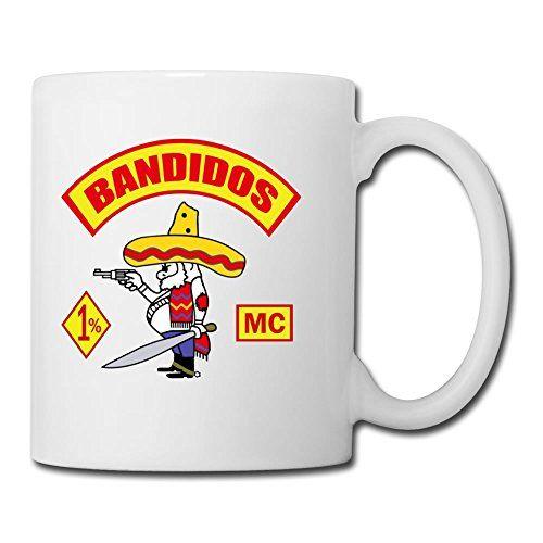 Bandidos Motorcycle Club Best Ceramic Personal Style Milk Cup 11oz SaraGordon http://www.amazon.com/dp/B0130FC6S0/ref=cm_sw_r_pi_dp_o2G8vb10AQ5P3
