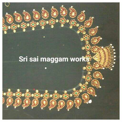 Necklace work