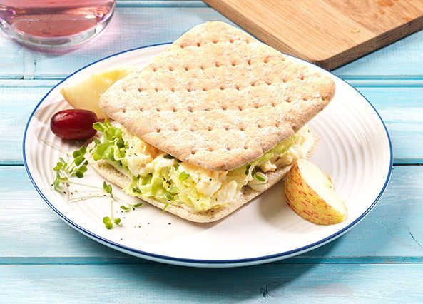 Egg, mayo and cress sandwich thins