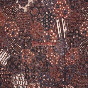 Tjokrosuharto collection. Batik Yogya 'Sekar Jagat'