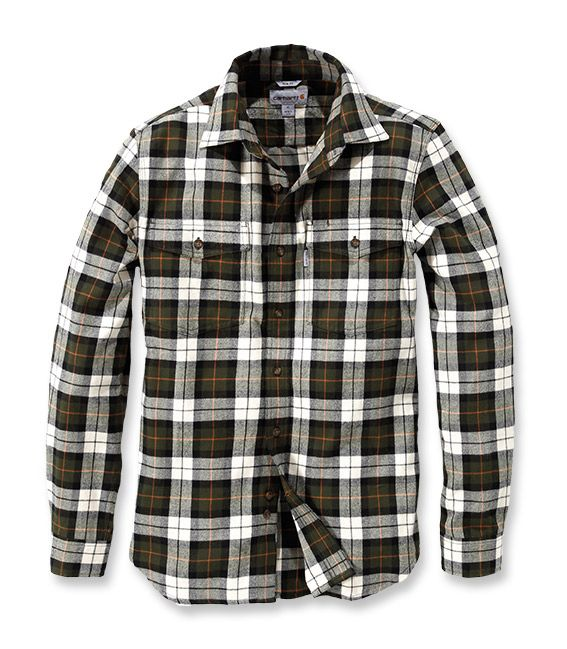 Trumbull Slim Fit Flannel Shirt – Carhartt workwear Europe