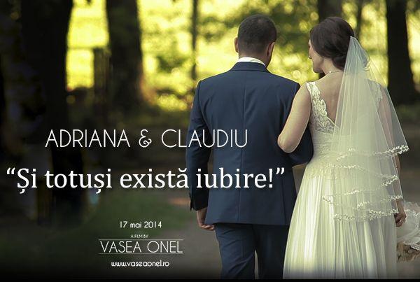 """Adriana & Claudiu – """"Si totusi exista iubire!"""" – sneak peek wedding"""