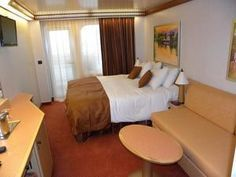 Inside the Carnival Dream Cruise Ship: Carnival Dream - Cabins and Accommodations - Cove Balcony Cabin