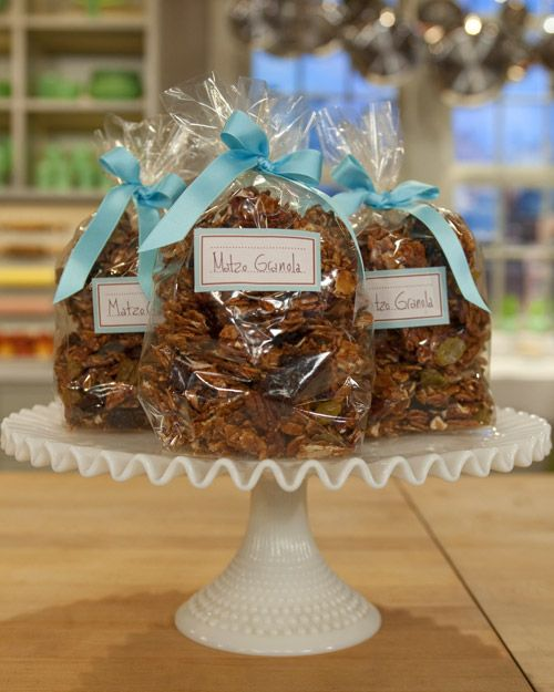 Matzo Granola....so unbelievably good, you can't stop eating....