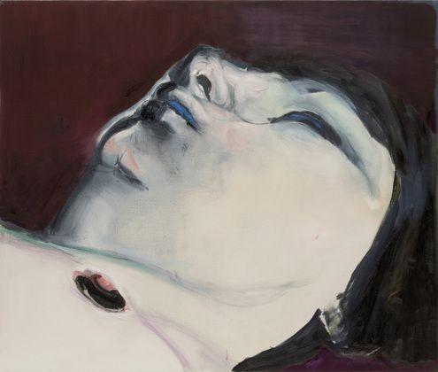 """Marlene Dumas. Jen. 2005. Oil on canvas, 43 3/8 x 51 1/4"""". The Museum of Modern Art, New York. Fractional and promised gift of Marie-Josée and Henry R. Kravis. © 2008 Marlene Dumas"""