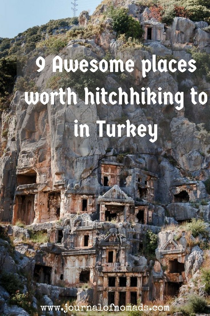 Turkey is a beautiful country that has lots to offer: history, culture, nature,...Here are 9 awesome places you shouldn't miss when hitchhiking/ traveling in Turkey!