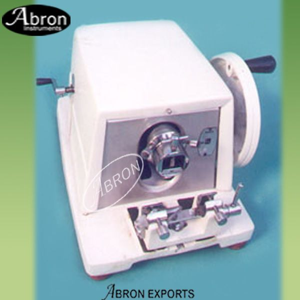 Abron microtome hand operated